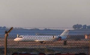 El Aeropuerto de Badajoz estrena este martes los vuelos directos a Tenerife