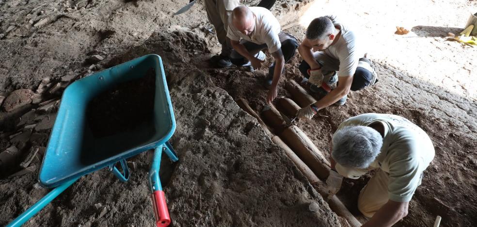El Consorcio de Mérida descubre un nuevo mosaico en la Casa del Anfiteatro