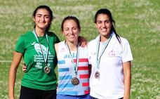Doble título de Lucia Sánchez, Matilde Pineda y Tino Salas en el Campeonato de Extremadura