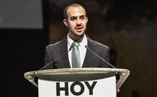 El placentino sordociego Javier García Pajares, Premio Nacional de Juventud