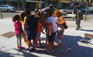 El programa Barrios Activos en Villanueva de la Serena se dirige estos días a los más jóvenes