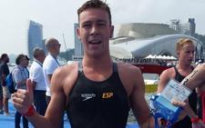 Alberto Martínez se clasifica para Tokio 2020 en aguas abiertas