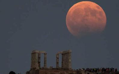 Un eclipse de luna parcial será visible este martes desde España