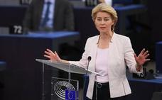 Von der Leyen defiende su candidatura a presidir la Comisión Europea con un discurso robusto