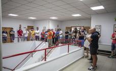 Los aspirantes a una de las 12 plazas por movilidad pasan la prueba eliminatoria