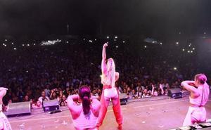 Más de 9.000 personas abarrotan el auditorio del ferial de Badajoz con el 40 Summer Live
