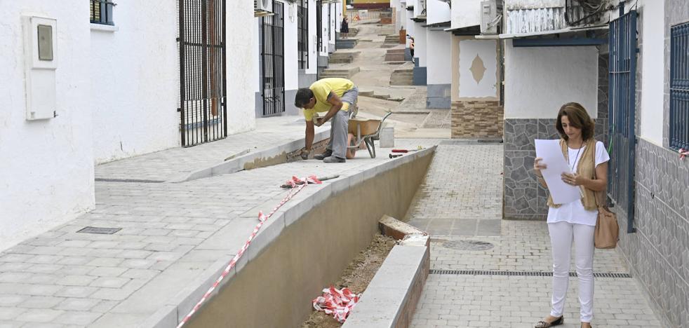 Un proyecto piloto abre el camino para hacer accesibles las calles de las 800 de Badajoz