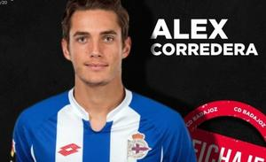El mediocentro catalán Álex Corredera se incorpora al CD Badajoz