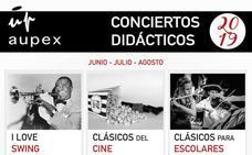 Higuera la Real, Talarrubias y Valdelacalzada acogen este fin de semana los conciertos didácticos de Aupex