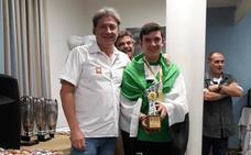 El jarandillano Carlos Delgado, campeón de España en la categoría 'Salmónidos mosca juventud'