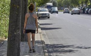 Badajoz destinará 191.000 euros a la ampliación del acerado de la Avenida Manuel Rojas