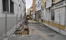 Las obras vuelven a la «calle averías»