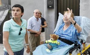 De Murcia a Jaraíz para cumplir el último deseo de Paca