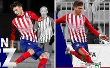 Cristian Rodríguez y Pinchi, calidad y juventud del Atlético de Madrid para el Extremadura