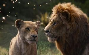 La cartelera española ruge con 'El rey león' y teme al 'Bosque maldito'
