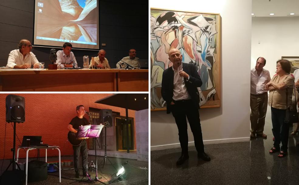 Amigos de Badajoz avanza su agenda en una velada cultural en el Meiac