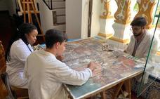 La campaña de 'Verano de restauración' recupera piezas de Santa Clara y La Candelaria