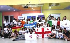 La localidad participa en tres intercambios con jóvenes europeos