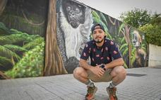 «Nunca me habría imaginado que me fueran a pagar por hacer un grafiti»