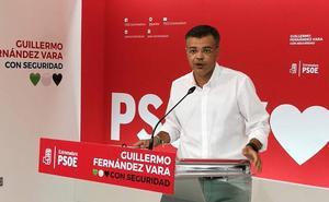 El PSOE critica a Monago por irse a Madrid como senador