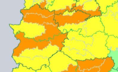Avisos por calor y tormentas en Extremadura hasta el miércoles
