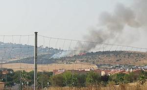 Sofocado un incendio en La Montaña de Cáceres
