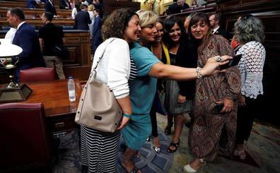 Olor a nuevo en el Congreso, palabras viejas en la tribuna