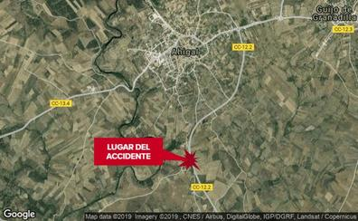 Un hombre resulta herido grave en una salida de vía en Ahigal