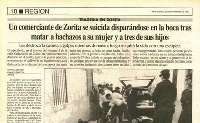 Un suicidio ampliado como el de Zorita, que dejó cinco muertos