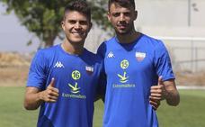 Cristian Rodríguez y Pinchi, dos apuestas de futuro del Extremadura