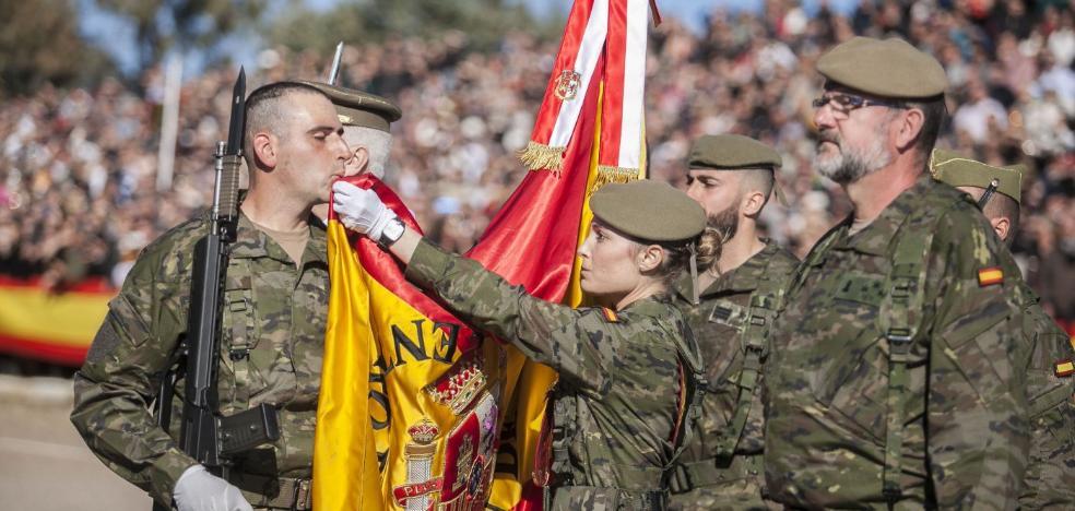 259 cacereños aspiran a entrar en el Ejército en noviembre