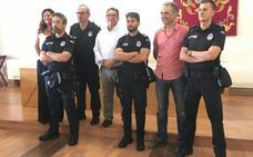 La Policía Local de Almendralejo se refuerza este verano con seis nuevos agentes