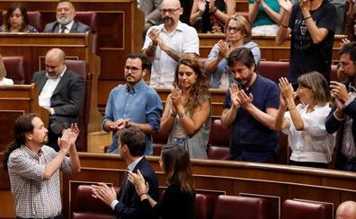 Iglesias pone a prueba su liderazgo en Podemos con la segunda investidura