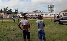 Al menos 52 muertos en un motín entre bandas rivales en una cárcel brasileña