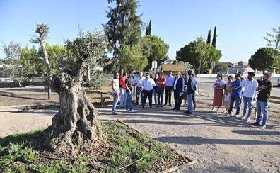 Valverde de Leganés inaugura un parque contra el cambio climático