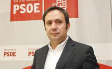 El diputado cacereño César Ramos, portavoz del PSOE en la Comisión de Fomento del Congreso