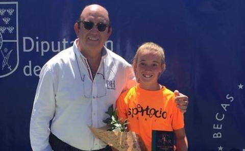 Alejandra Pinilla gana un torneo nacional en Béjar