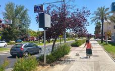 El Ayuntamiento de Badajoz coloca un radar fijo en la avenida de Elvas que multará este mes