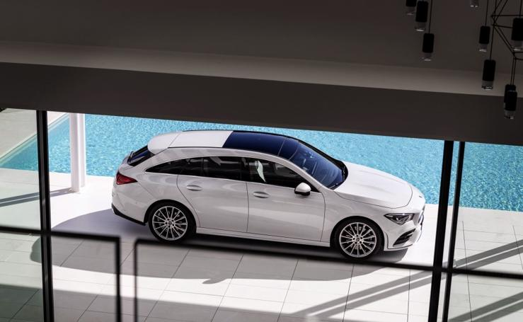 Fotos del Mercedes CLA Shooting Brake