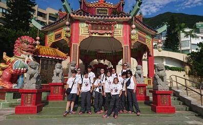 El viaje robótico a China de los alumnos del colegio Lope de Vega