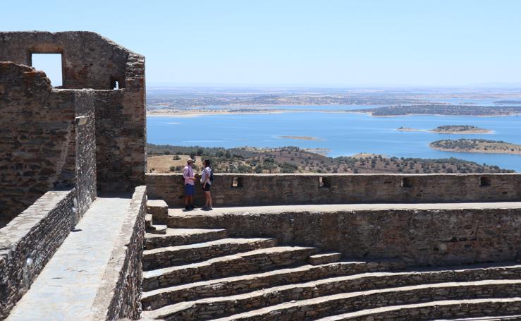 El balcón sobre las aguas de Alqueva