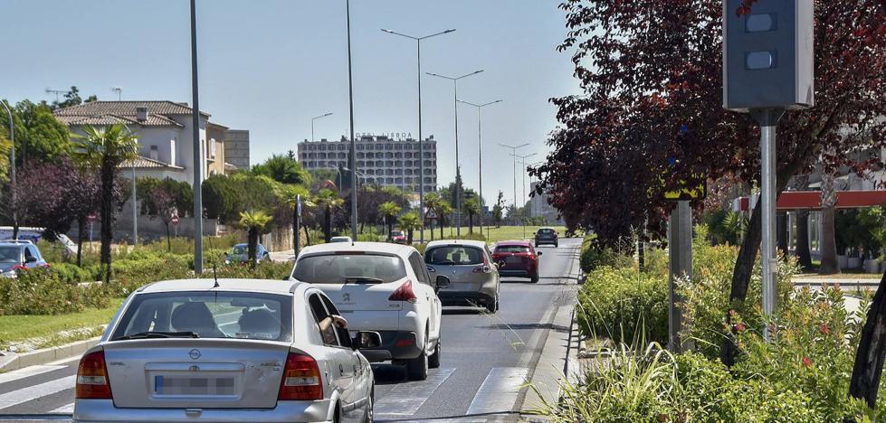 El efecto radar ya se nota en la avenida de Elvas de Badajoz