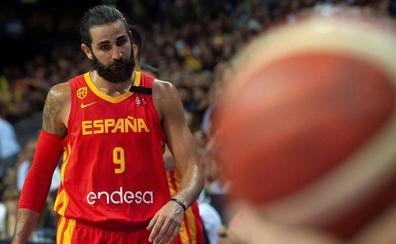España se entrena con victoria liderada por Rubio y Willy Hernangómez