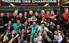 El PSG se lleva el primer título oficial de la temporada