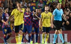 Luis Suárez da el Gamper al Barcelona sobre la bocina