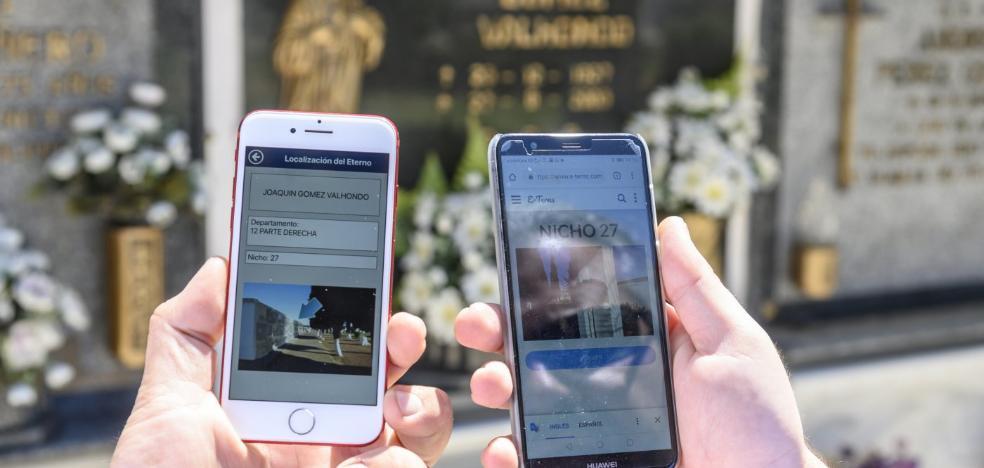 El 'facebook' de los difuntos