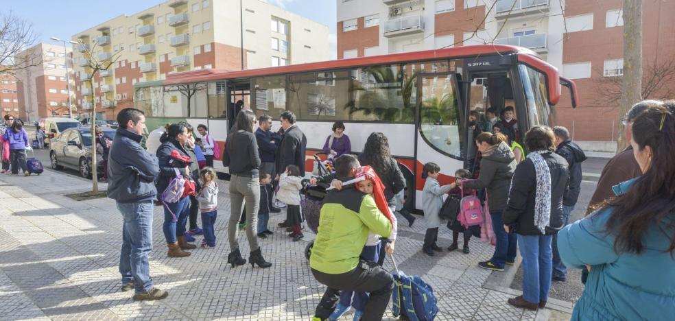 El TSJEx anula la adjudicación de rutas escolares a autobuses sin cinturón