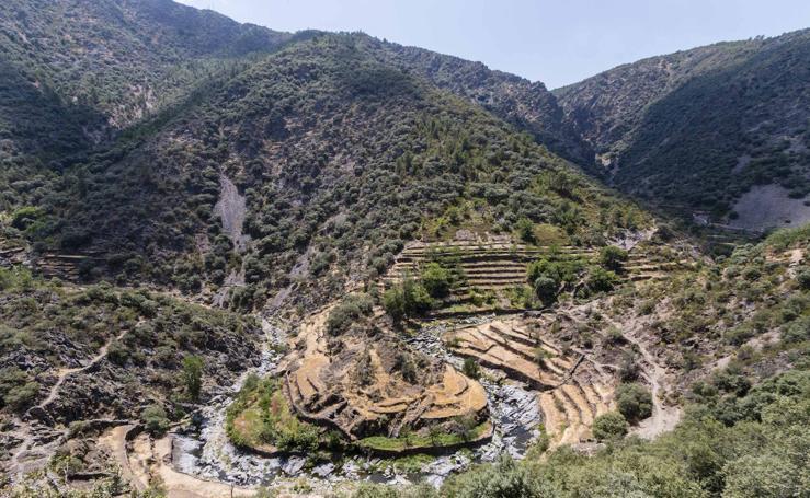 Rincones extremeños con encanto | El Gasco: el triple meandro hurdano
