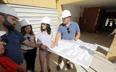 El colegio público Alba Plata convivirá el próximo curso con sus intensas obras de reforma