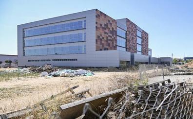 La obra de los nuevos juzgados de Badajoz cumple un año parada y sin fecha para finalizar